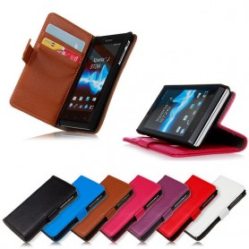 Matkapuhelin lompakko Xperia J