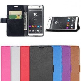 Mobiili lompakko Xperia C5 Ultra Dual