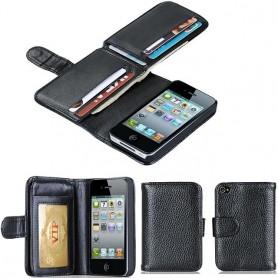 Monikäyttöinen lompakko 7 -kortti iPhone 4 4S