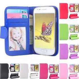 Mobiili lompakko Galaxy S3 Mini -tasku