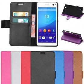 Matkapuhelin lompakko Sony Xperia C4