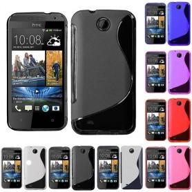 S Line silikonikuori HTC Desire 300