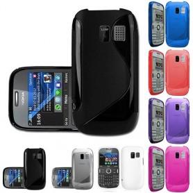 S Line -silikonikotelo Nokia 302: lle