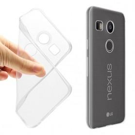 LG Nexus 5X silikoni läpinäkyvä