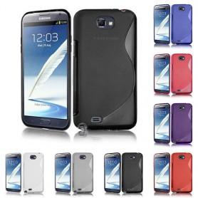 S Line silikonikuori Galaxy Note 2