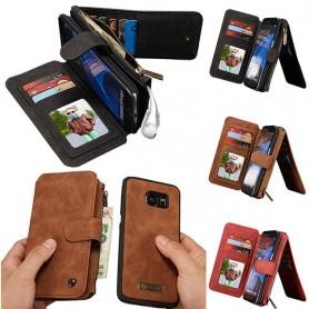 Monikäyttöinen lompakko 14-kortti S7 Edge