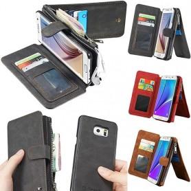 Monikäyttöinen lompakko 14-kortti S6 Edge