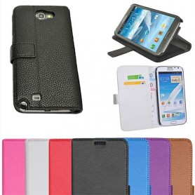 Galaxy Note 2 lompakkokotelo