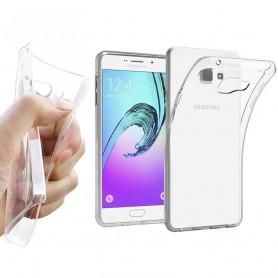 Galaxy A9 2016 silikoni on läpinäkyvä