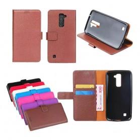 Kannettava lompakko 2 -kortti LG K8 2016 (K350N)