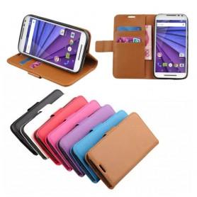 Matkapuhelin lompakko Motorola Moto G3
