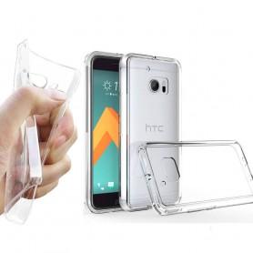 HTC ONE M! 0 silikonikotelo läpinäkyvä