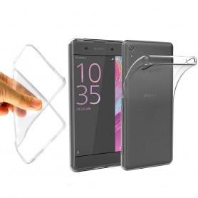Sony Xperia XA silikonikotelo läpinäkyvä