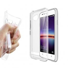 Huawei Y3 II silikonikotelo läpinäkyvä