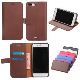 Kannettava lompakko Apple iPhone 7 Plus / 8 Plus matkapuhelinkotelo