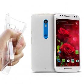 Motorola Moto X Play silikoni läpinäkyvä