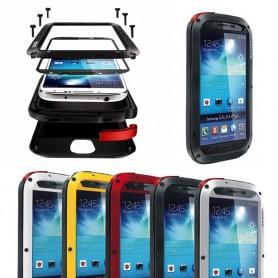 LOVE LORE Powerful Samsung Galaxy S4 mobiili kuori metalli