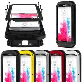LOVE Enemmän Powerful LG G3 kannettavaa kuori metallia