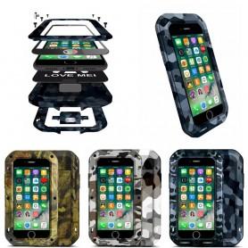 LOVE LISÄÄ CAMO Apple iPhone 7, 8 -alustainen alumiiniterässuoja