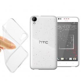 HTC Desire 825 silikonikotelo läpinäkyvä