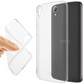 HTC Desire 828 silikonikotelo läpinäkyvä