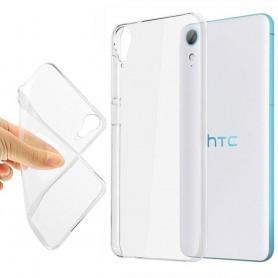 HTC Desire 830 silikonikotelo läpinäkyvä