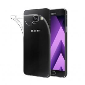 Galaxy A3 2017 -silikonin on oltava läpinäkyvää