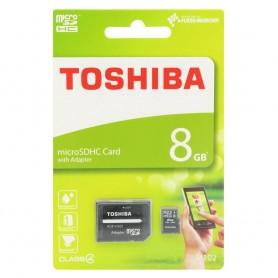 Toshiba 8Gb Micro SDHC adapterilla Class 4