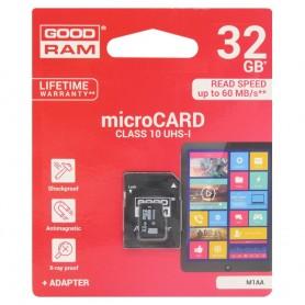 GOODRAM 32Gb Micro SD adapterilla luokka 10