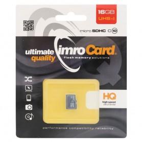 IMRO Micro SDHC -muistikortti 16 Gb luokka 10