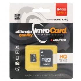 IMRO Micro SDHC -muistikortti 64Gb Class 10