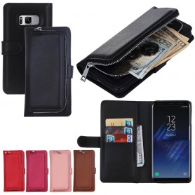 Mobiili lompakko 2i1 kolikkatasku Samsung Galaxy S8 Plus