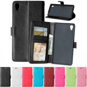 Matkapuhelin lompakko 3 -kortti Sony Xperia Z5