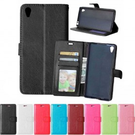 Matkapuhelin lompakko 3 -kortti Sony Xperia Z5 Premium