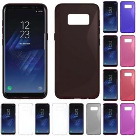 S Line silikonikuori Samsung Galaxy S8
