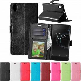 Kannettava lompakko 3-kortti Sony Xperia XA1 G3116