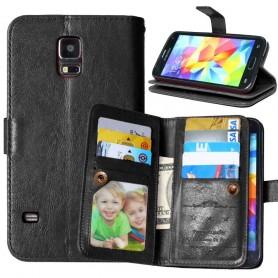 Kaksinkertainen läppä Flexi Samsung Galaxy S5 Mini