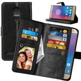 Mobiili lompakko Double Flip Flexi 8 -kortti Lenovo K6