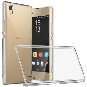 Clear Hard Case Sony Xperia L1 G3311 läpinäkyvä kantolaukku
