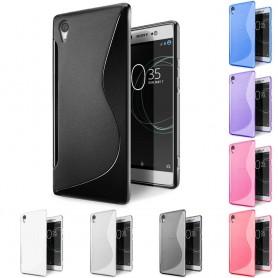 S Line -silikonikotelo Sony Xperia XA1: lle (G3116)