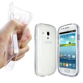 Samsung Galaxy S3 Mini -silikonin on oltava läpinäkyvä