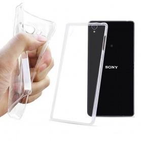Sony Xperia T3 silikonikotelo läpinäkyvä