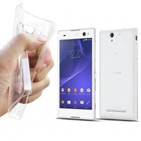 Sony Xperia C3 silikoni läpinäkyvä