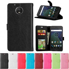 Mobiili lompakko 3-korttinen Motorola / Lenovo Moto G5 Plus