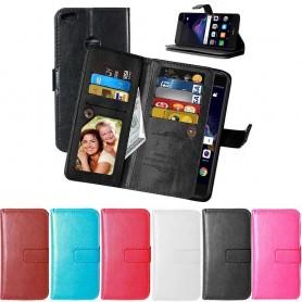 Mobiili lompakko Double Flip Flexi 9 -kortti Huawei P8 Lite 2017 / Honor 8 Lite