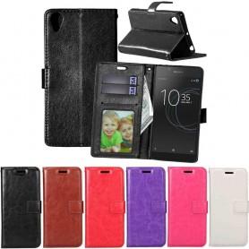 Kannettava lompakko 3-kortti Sony Xperia L1 matkapuhelinkotelo CaseOnline