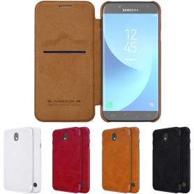 Nillkin Qin FlipCover Samsung Galaxy J5 2017 SM-J530F matkapuhelin CaseOnline