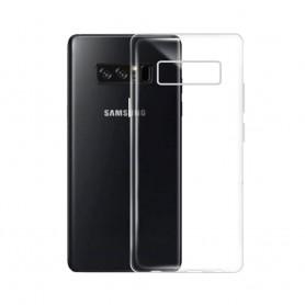 Samsung Galaxy Note 8 silikonikotelo läpinäkyvä