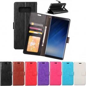 Kannettava lompakko 3-kortti Samsung Galaxy Note 8 Sm-N950F kannettava suojakotelo CaseOnline