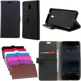 Kannettava lompakko 2 -kortti Nokia 3 -kotelo suojakoteloon CaseOnline